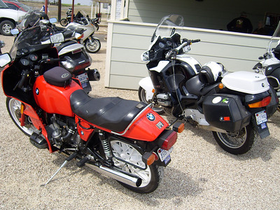 Ardys Kellerman's bike on the right