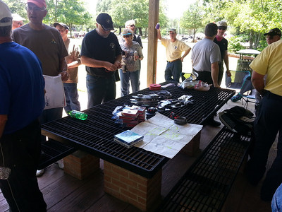 Great bunch of door prizes.  Thanks East Texas BMW Riders.
