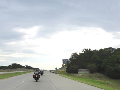 Entering Oklahoma!