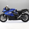 BMW K 1300 S Lupin blue metallic/Alpine white/Sapphire black metallic (06/2010)