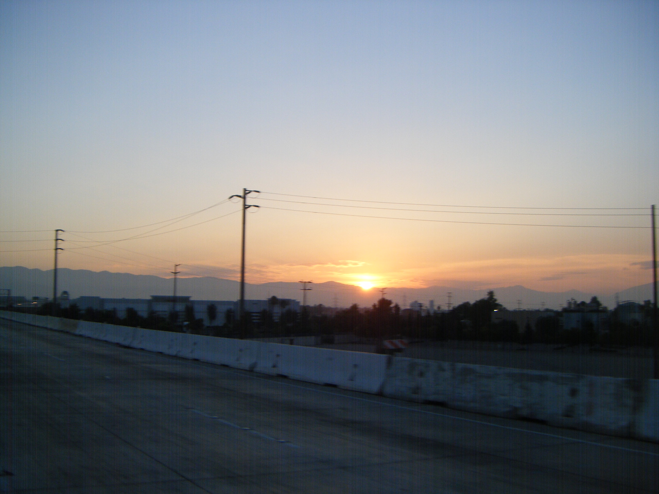 Sunrise thru Redlands