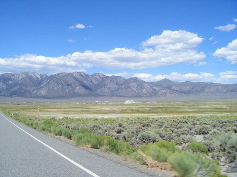 First sight of Owens river campground