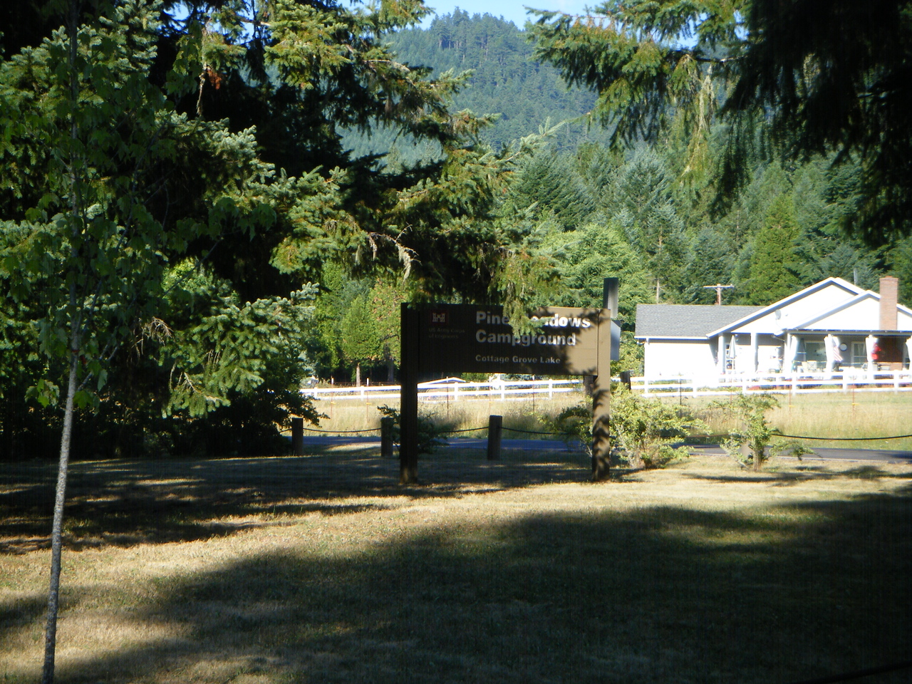 Campground north of the Cali border