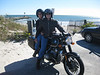 Once sorted, these old airheads make great tourers. And people seem to ask about the bike whenever we stop. Here our picture is taken at the Shinnicock Inlet by a friendly admirer.