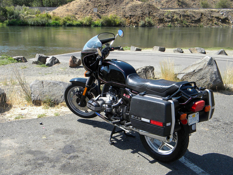 first ride, along the yakima river