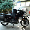 R80CS w/ tank cover, Mountain Sun tank panniers, and tank bag.  Ready for the Gypsy Tour 2009.
