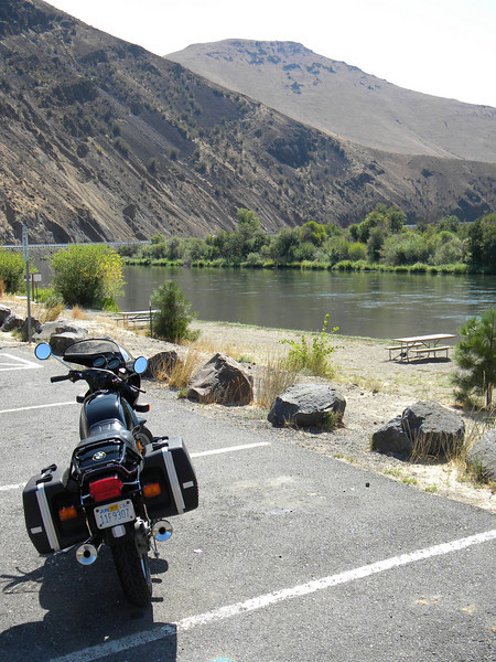 Along the Yakima, just above Roza dam.