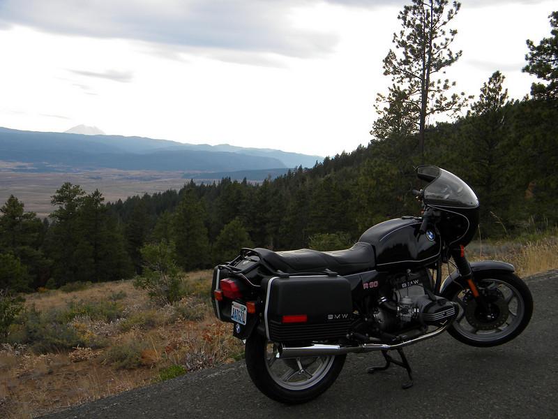 Mt. Rainier over the Cascades.