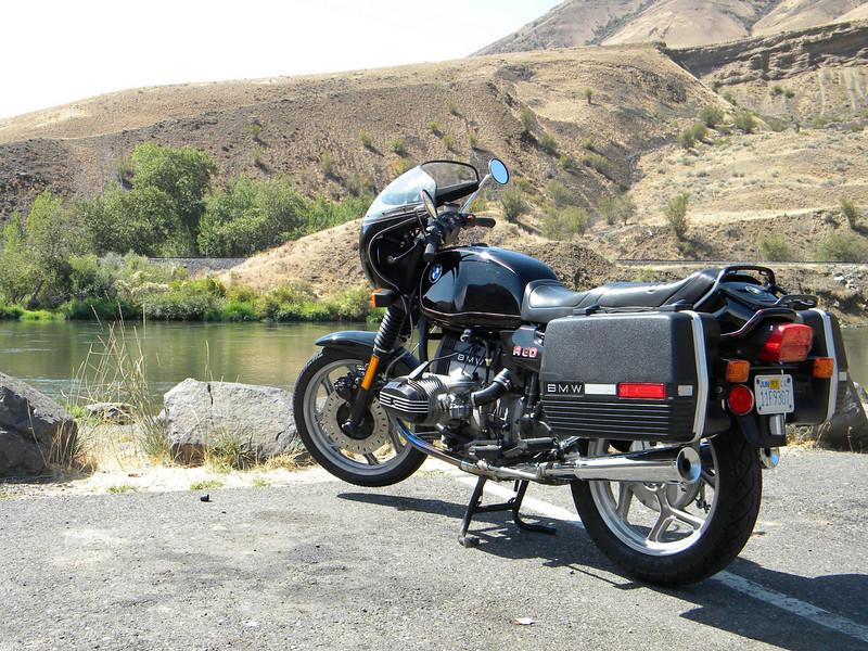 first ride, along the yakima river, 8.23.09