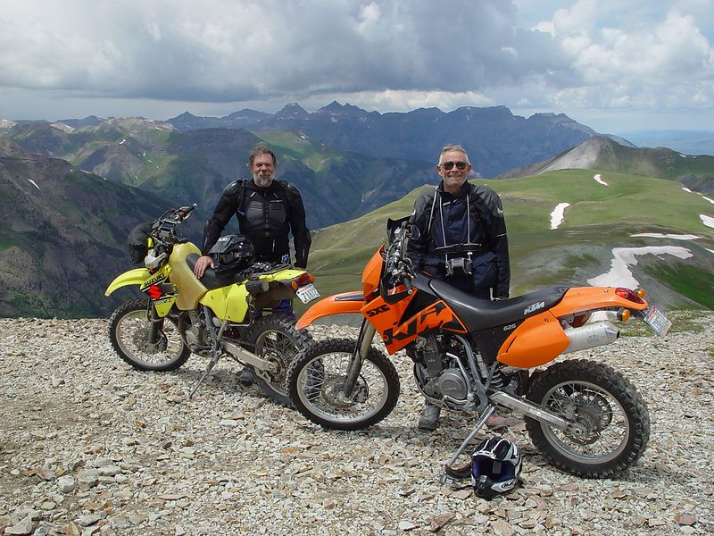 Dave and Don, top of Engineer Pass.