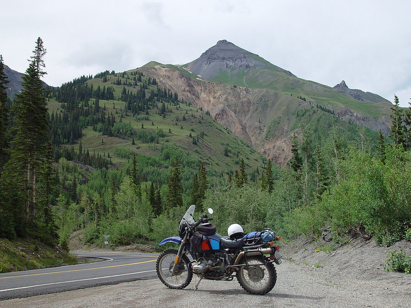 A nice spot along the road back into Ouray.