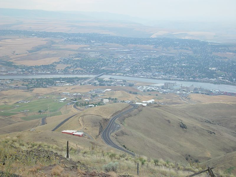 Another view overlooking Lewiston.