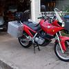 Li'l Red in the driveway, right side