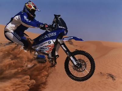 """The Famous """"Gaulois"""" 900RR Dakar bike"""