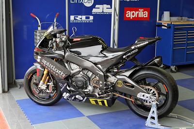 Splitlath Motorsport Aprilia BSB Evo Class.