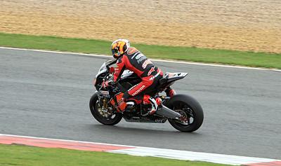 Shane Byrne, HM Plant Honda. BSB Superbikes.