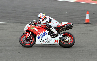 Robbie Brown, Ducati. Rapid Solicitors Ducati 848 Challenge.
