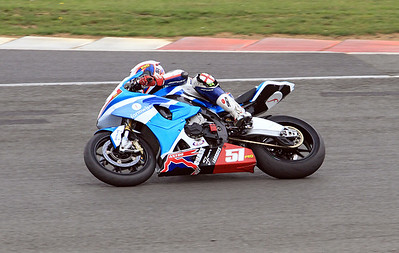 Luke Quigley, Formwise/Astro Racing BMW. Metzeler National Superstock 1000.