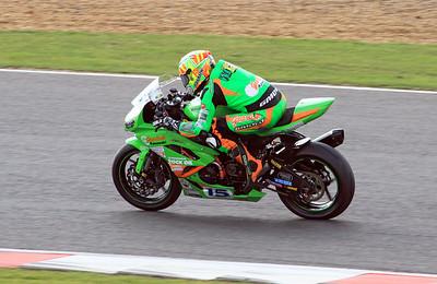 Ben Wilson, Gearlink Kawasaki. Fuchs-Silkolene British Supersport Championship.