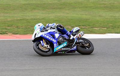 Jon Kirkham, Samsung Cresent Suzuki. BSB Superbikes, Race 1.