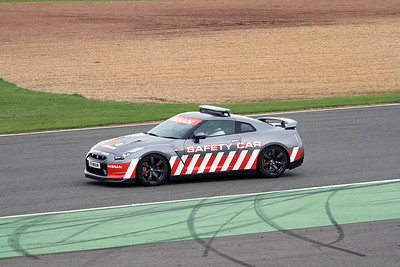 Nissan safety car.