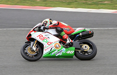 Martin Jessop, Rapid Solicitors Bathams Ducati. Superbikes Race 1.