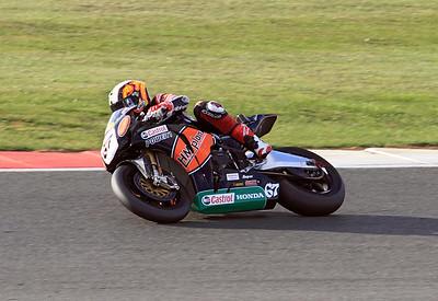 Shane Byrne, HM Plant Honda. BSB Superbikes. Race 2