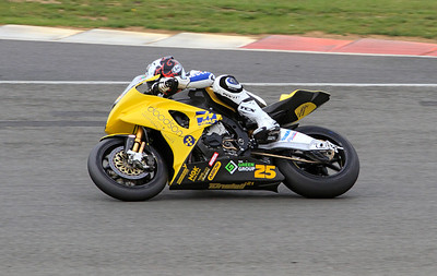 David Anthony, Doodson Motorsport BMW. BSB Superbikes Evo Class, Race 1.