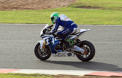Peter Hickman, Tyco Honda. BSB Superbikes Race 2.