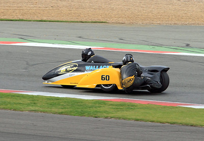 Ben holland & Lee Watson, LCR Suzuki. Eastern Airways British F1 Sidecar Championship.