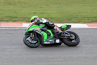 Howie Mainwaring, MSS Colchester Kawasaki. Metzeler National Superstock 1000.