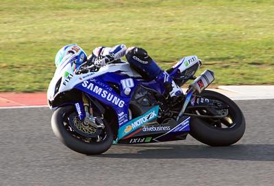 Jon Kirkham, Samsung Cresent Suzuki. BSB Superbikes, Race 2.