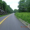 Finally on the Parkway.  Fresh pavement from outside Asheville to near Mt Mitchell.
