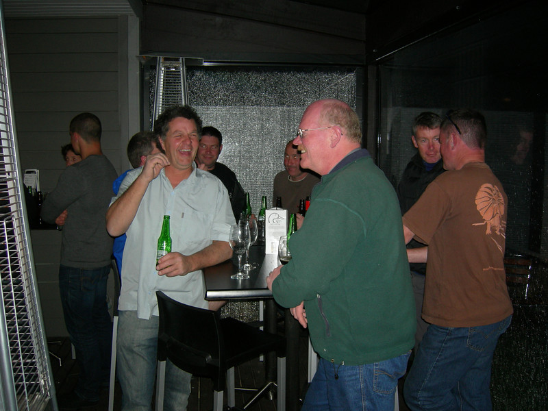 "Richard ""Knuddy"" Knudson, Derek Partridge,Dave Blackwood, Dave Wilson, Nigel"
