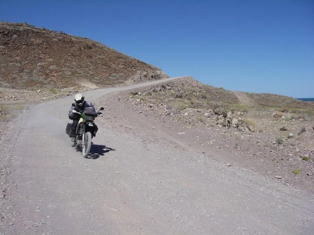 On the way to Punta San Rafael south of Puertocitos.