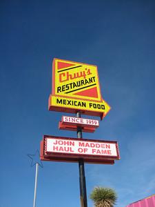 Chuy's in Van Horn, Texas. Delicious!