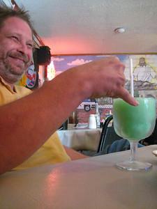 Redone's foo-foo drink.