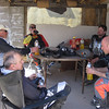 ...meanwhile Juan, Petr, Johnny Cool, Kainan and Big Dave relax in the shade.