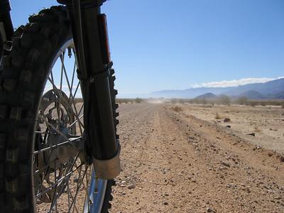 February 2007 - the northwestern edge of Laguna Salada in Baja California. What a ride!