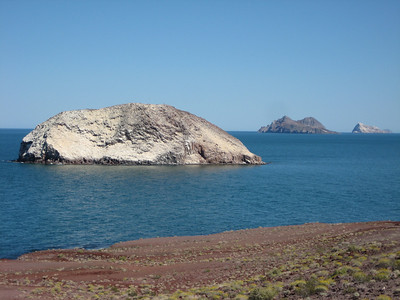 When you see this island, thoughfully iced with bird crap, you'll know you are where Baja really starts.