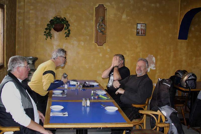 Lunch in Pueto Nuevo