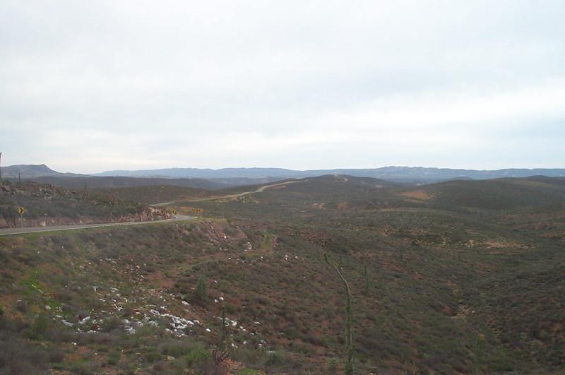 Landscape near El Rosario