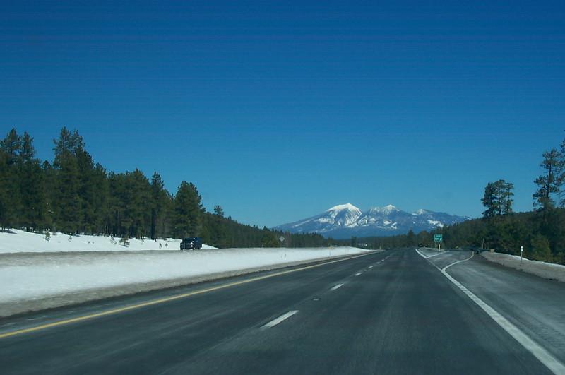 Heading towards Flagstaff, AZ