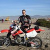 My first trip in 2006 I rode an XR650R here on the beach south of Ensenada