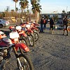 The starting point in Ensenada.