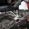 Bomb proof R100 motor with new style swing arm.