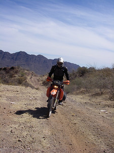 Estevan ascends the sierras with gusto, that was a pretty gnarly hillclimb.