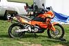 Nice KTM 950 Adventure belonging to one of the vendors.