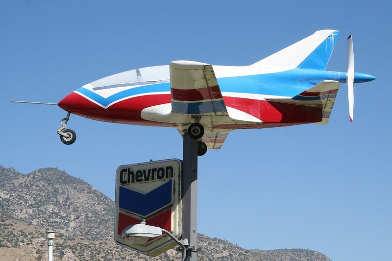 A BD experimental aircraft.