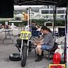 Preparing to race at Barber Motorsports Vintage Festival 2009